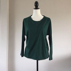 🔻madewell🔻 green slouchy top
